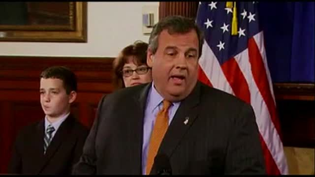 News video: Christie Names Lautenberg Replacement